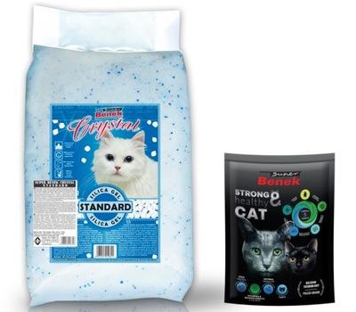 Наполнитель  Crystal 13кг силиконовый для кота