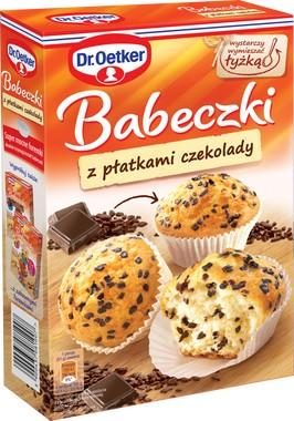 Кексы с Лепестками Шоколада 300г Dr. Oetker