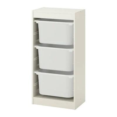 Икеа ТРУФАСТ стеллаж Белый +3 контейнеры ?? игрушки #2