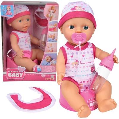 SIMBA NEW BORN BABY DOLL a HOVORÍ: NÁPOJE-DIEŤA je 30 CM