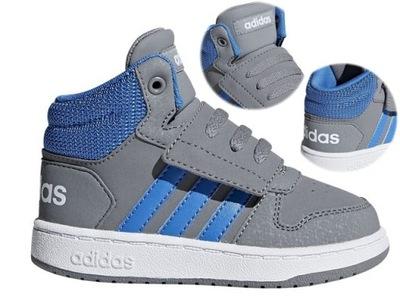Niebieskie Tekstylne Buty Sportowe Adidas rozmiar 36 23