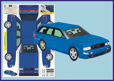 Модель для детей__AUDI 80 Avant__Extra Модель