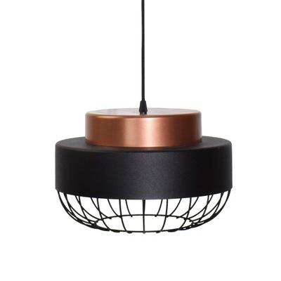 Lampa visí odkvapov loft INDUSTRIA 300 Čiernej Medi