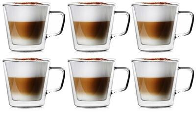 Termálne hrnčeky kávy latte čaj 400 ml Vialli