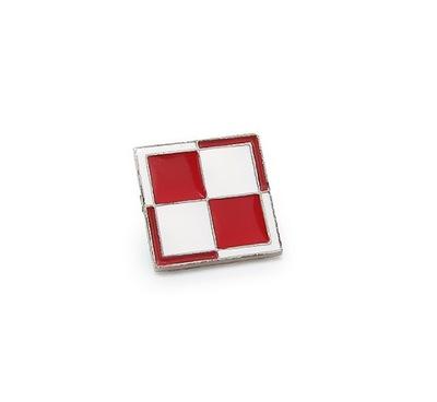 Марку WPINKA шахматная доска БЕЛО красная