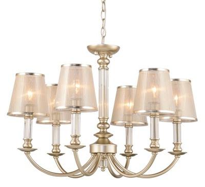svetlo stropné svietidlo prívesok lampa taliansky GLAMOUR Zlato Amber6