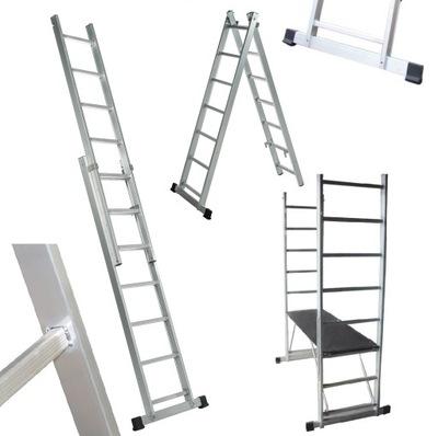 Les 2x6 hliníkovej platforme rebríka + POŠTOVNÉ