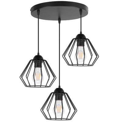 LAMPY PRÍVESOK svietidlo STROPNÉ LED LUSTER DIAMOND LOFT