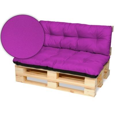 Подушки на мебель из поддонов скамейка 120х80+120x40 двуустки