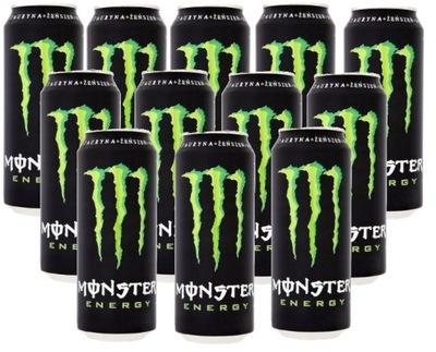 MONSTER ENERGY энергетический напиток 500 мл х 12 штук