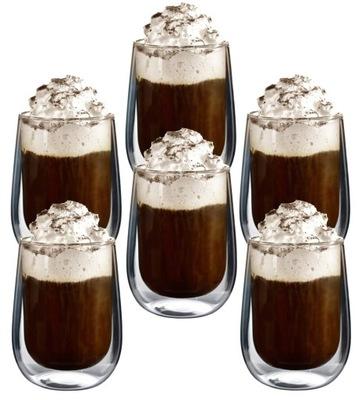 Стаканы Термостойкие для кофе латте чая x6