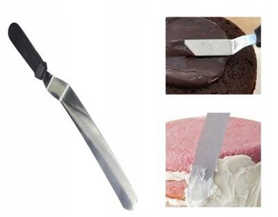 ŁOPATKA Szpatuła szpatułka cukiernicza nóż do tort