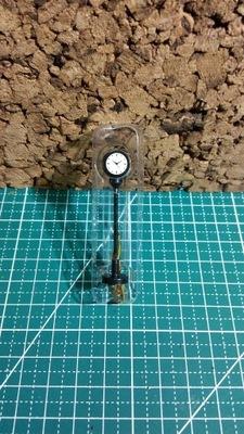 часы на перрон железнодорожного подсветкой Eaglemoss H0