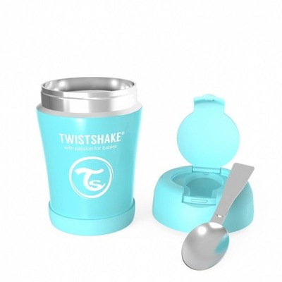 Twistshake Kontajner Tepelnej Potravín 350 Modrá
