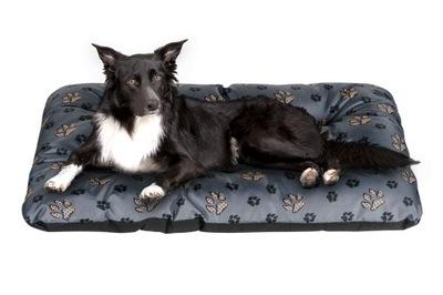 логово собака подушка 100x70 ЛАПКИ водонепроницаемые