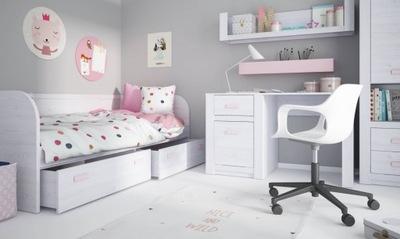 Мебель ??? девочки кровать 90х200 см рабочий Стол Лило