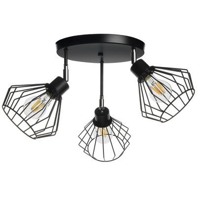 LAMPY PRÍVESOK svetlo STROPNÝ LUSTER EDISON LED STROPNÉ