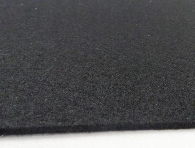 войлок Черный ш 100см 500г /м2 крупный 3mm, 1 мб