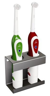 ! Držiak na zubné kefky, elektrické nehrdzavejúcej nierdzewn