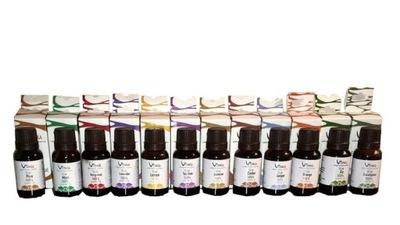 SAUNA, OLEJKI Zestaw olejków do sauny 12 x 15 ml