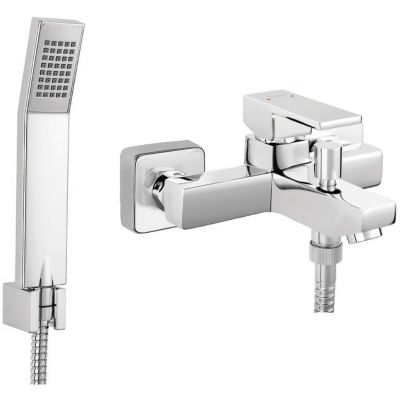 Železných ZICCO wannowy kohútik štvorcový sprchovací