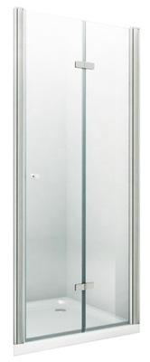 двери ДУШЕВЫЕ Складывающиеся стекло ЗАКАЛЕННОЕ 120/195