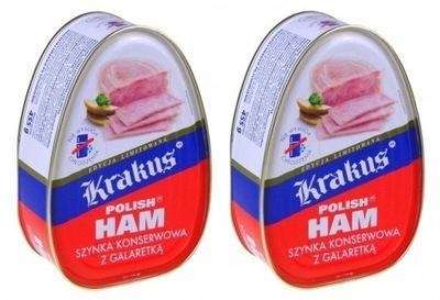 Ветчина консервированная KRAKUS RUSSIAN HAM 455g x 2