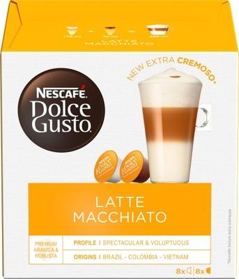 кофе с молоком Nescafe Dolce Gusto Латте Макиато