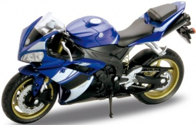 YAMAHA YZF-R1 2008 мотоцикл 1 :18 Welly металлический