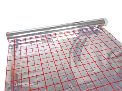 Fólia na podlahové vykurovanie 0,130 mm 50 rm
