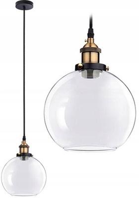 stropné svietidlo PRÍVESOK lampa LOFT B TECHNICKÉ SKLO