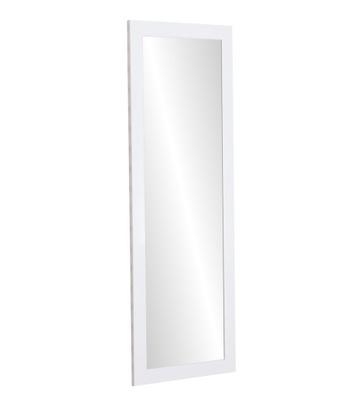 зеркало 130X40 в плечо Венге белое 12 ЦВЕТА