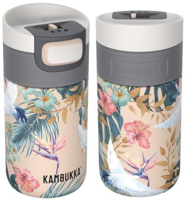 Кружка термопечать термос KAMBUKKA ЭТНА 300 мл Flower