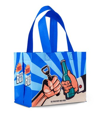 пиво сумка 6PAK prezentowa с рисунком Fabor