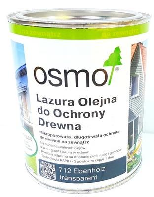 Osmo 712 Lazur Olej 0.75 l ebenu