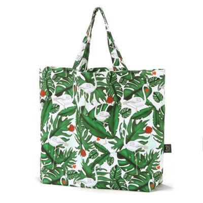 La Millou Taška Shopper Taška Evergreen Tiger