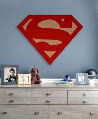 Супермен таблица korkowa на стену Instagram персонаж комиксы