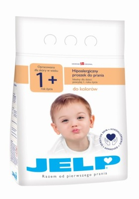 JELP 1+ PROSZEK DO PRANIA KOLOR 2,24KG HIPOALERGIC