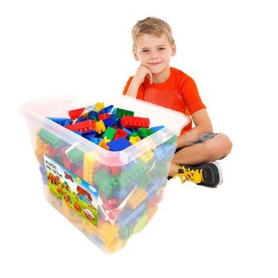 600 PODLOŽKY v krabici dizajn, veľké plastové