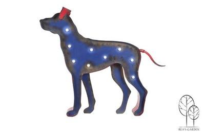 Záhradná dekorácia - DOG LED OSVETLENIE DEKORÁCIA FIGURE GARDEN HOUSE
