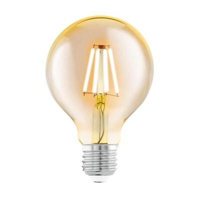 Лампа LED E27 G80 Декоративная шар filament 4ВТ