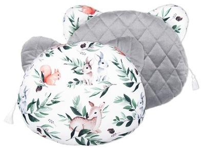 МИШКА подушка 35x27 Velvet рельефный премиум