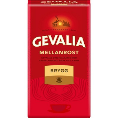 Mellanrost Gevalia Brygg кофе молотая Арабика 450g