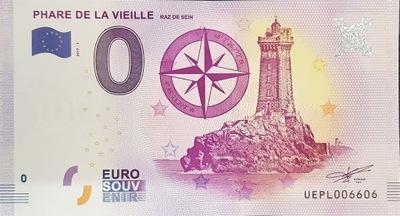 Банкноты Ноль Евро - Маяк - 2017- пленка  !!