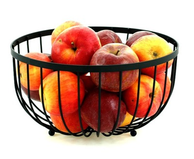 КОРЗИНА на фрукты сервировочная подставка миска Корзина КРУГЛЫЙ 25x13cm.