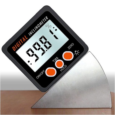 Uhlomery digitálny meter indikátor nakloní