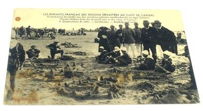 LES ENFANTS FRANCAIS DES REGIONS DEVASTEES AU CAMP