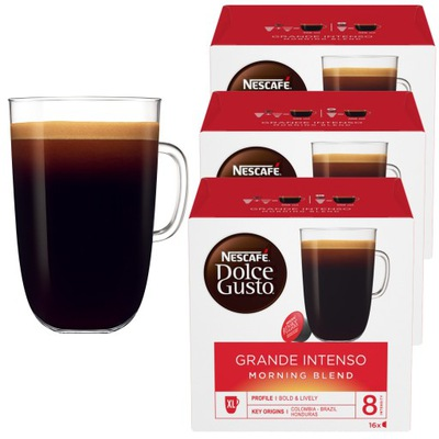 Dolce Gusto Grande Intenso Morning Blend 48 3x16
