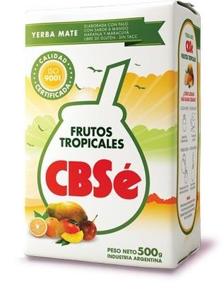 Yerba mate CBSe Frutos Tropicales 500g Mango!
