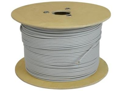 NEKU Kabel skrętka drut UTP kat.5e 100% miedź 500m